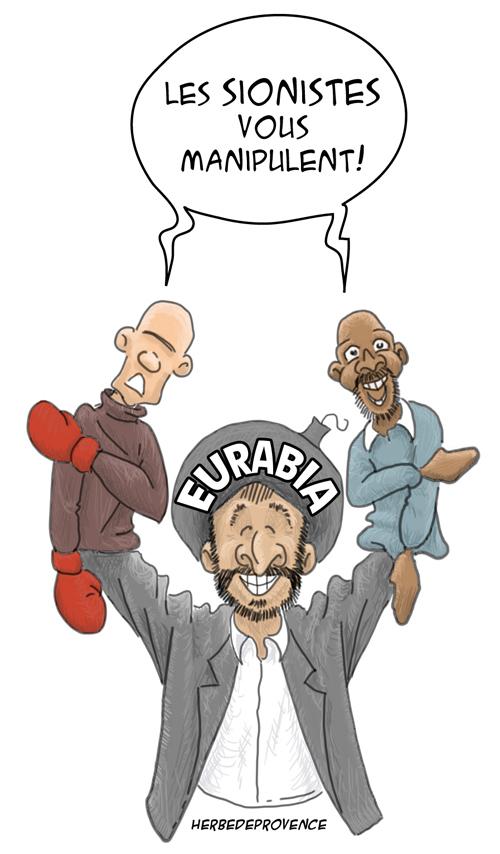 Soral et Dieudonné, marionnettes d'Eurabia