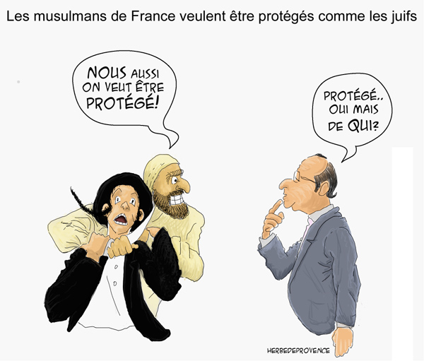 les musulmans protégés comme les juifs