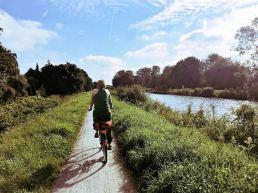 radeln am Ems-Jade-Kanal