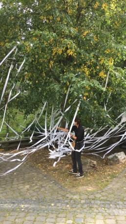 Papierbaum von Susanne Müller-Geiger