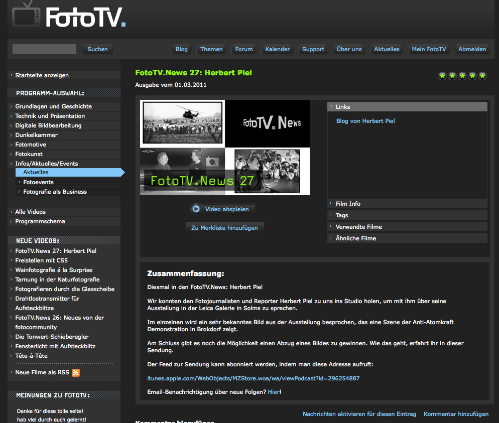 FotoTV Screen