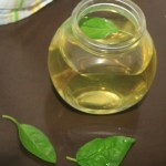 Stress reducing basil tea