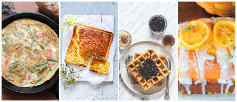 Breakfast and brunch recipes with fresh thyme