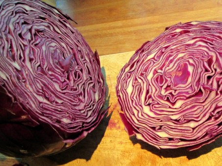 Mar 2013: Red cabbage