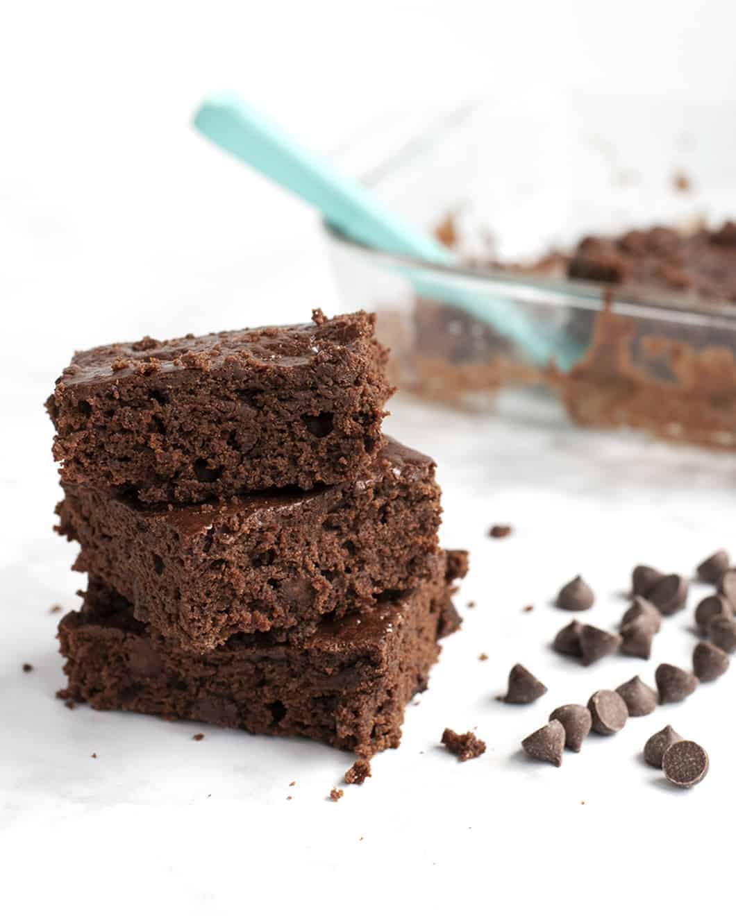 Double Chocolate Vegan Brownies: These Easy Plant-Based Brownies Will Win Over Even the Biggest Diehard Dessert Fans!
