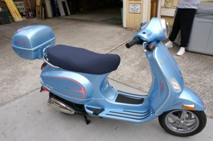 blue_vespa Bikes and Other 2-wheelers Pinstriping by Herb Martinez, Livermore, CA. Serving the San Francisco Bay area.