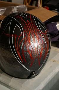 Helmet Pinstriping by Herb Martinez