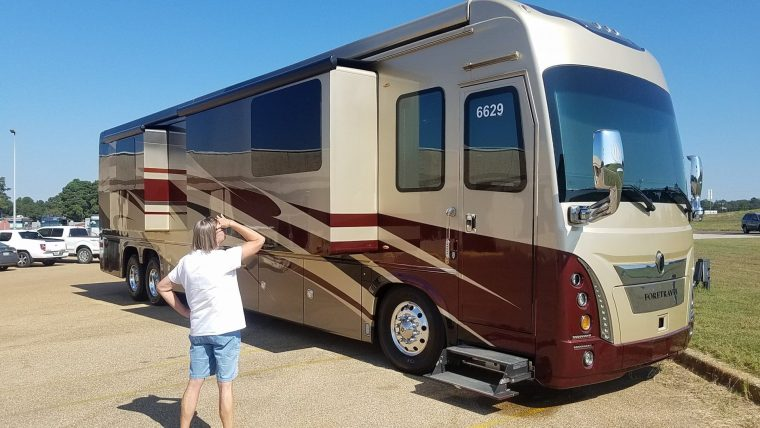 Foretravel Coach Plant Tour – Nacogdoches, TX – RV'ing with