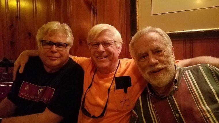 Ed (WB8BHL), Dave (WB4EWS), and Eric (N8CEU)
