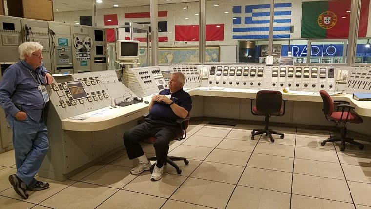 The main transmitter control room