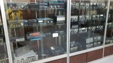 Part of Robert L. Drake's personal ham radio collection