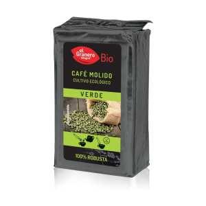 Café molido Verde 100% Robusta Bio – El Granero Integral – 400 gr