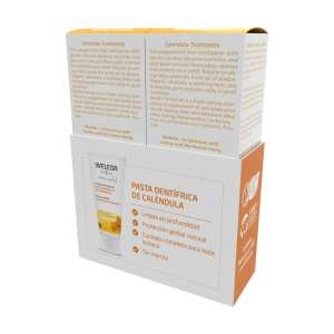 Duplo Pasta Dentífrica de Caléndula – Weleda – 2 x 75 ml