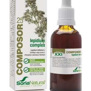 Composor 25 – Lepidium Complex XXI – Soria Natural – 50 ml
