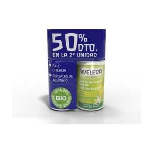 Duplo Desodorante Roll-On 24 horas de Citrus – Weleda – 2 x 50 ml