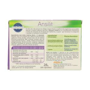 Ansilit – Dietisa – 60 cápsulas