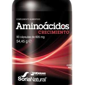 Aminoácidos Crecimiento – MGDose – 90 cápsulas