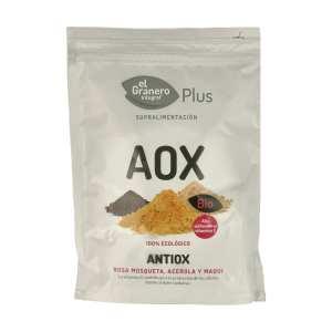 Antiox (Rosa Mosqueta, Maqui y Acerola) Bio – El Granero Integral – 150 gr