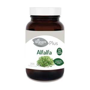 Alfalfa Plus – El Granero Integral – 200 comprimidos