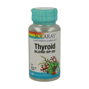 Thyroid Blend SP-26 – Solaray – 100capsulas