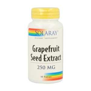 Extracto de Semillas de Pomelo – Solaray – 60 capsulas