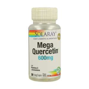 Mega Quercitin – Solaray – 30 cápsulas