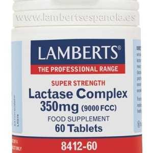 Complejo de Lactasa 350 mg – Lamberts – 60 comprimidos