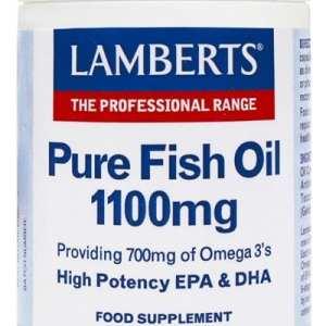 Aceite de Pescado Puro 1.100 mg – Lamberts – 60 perlas