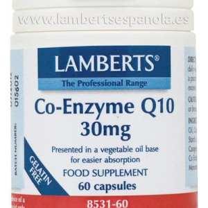 Co-Enzima Q10 30 mg – Lamberts – 60 cápsulas
