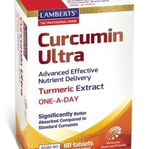 Curcumin Ultra – Lamberts – 60 comprimidos