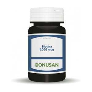 Biotina 1.000 mcg – Bonusan – 60 comprimidos