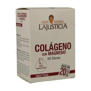 Colágeno con magnesio – Ana Maria Lajusticia – 20 sobres 5 gr