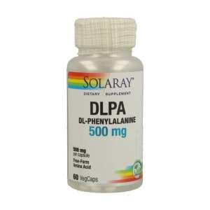 DL-Phenylalanine 500mg – Solaray – 60 capsulas
