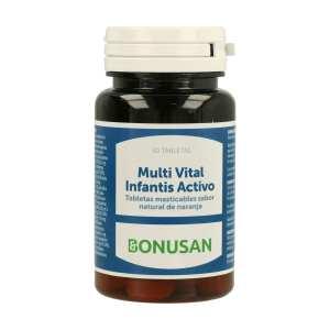 Multi Vital Infantis Activo – Bonusan – 30 comprimidos