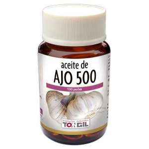 Aceite de Ajo 500 – Tongil – 100 perlas
