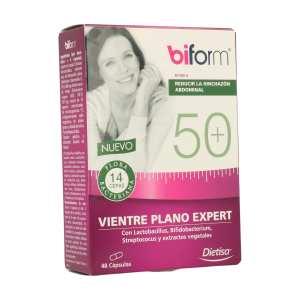 50+ Vientre Plano Expert – Dietisa – 48 cápsulas
