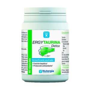 Ergytaurina Detox – Nutergia – 60 cápsulas