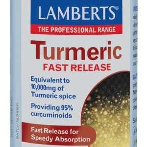 Cúrcuma – Liberación Rápida – Lamberts – 120 comprimidos