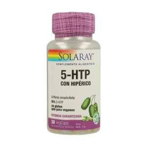 5-HTP con Hipérico – Solaray – 30 capsulas