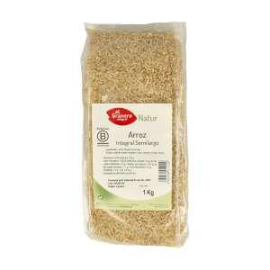 Arroz Integral Semilargo – El Granero Integral – 1 kilo