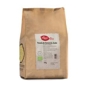 Panela de Comercio Justo Bio – El Granero Integral – 4 kilos