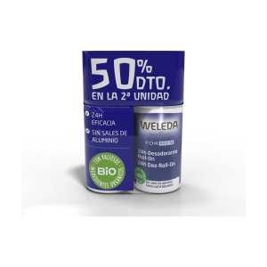 Duplo Desodorante Roll-On 24 horas Men – Weleda – 2 x 50 ml