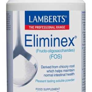 Eliminex – Fructo-oligosacáridos (FOS) – Lamberts – 500 gr