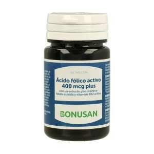 Ácido Fólico Activo 400 mcg Plus – Bonusan – 90 comprimidos