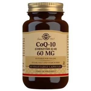Coenzima Q-10 60 mg – Solgar – 60 Cápsulas blandas