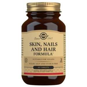 Pelo, piel y uñas – Solgar – 60 comprimidos