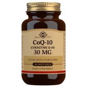 Coenzima Q-10 30 mg – Solgar – 30 Cápsulas blandas