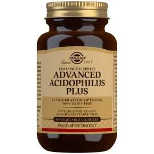 Acidophilus Plus Avanzado (no lácteo) – Solgar – 60 Cápsulas