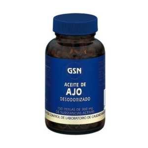 Aceite de Ajo Desodorizado – GSN – 150 perlas