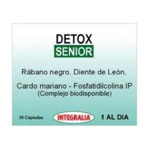 Detox Senior – Integralia – 30 cápsulas